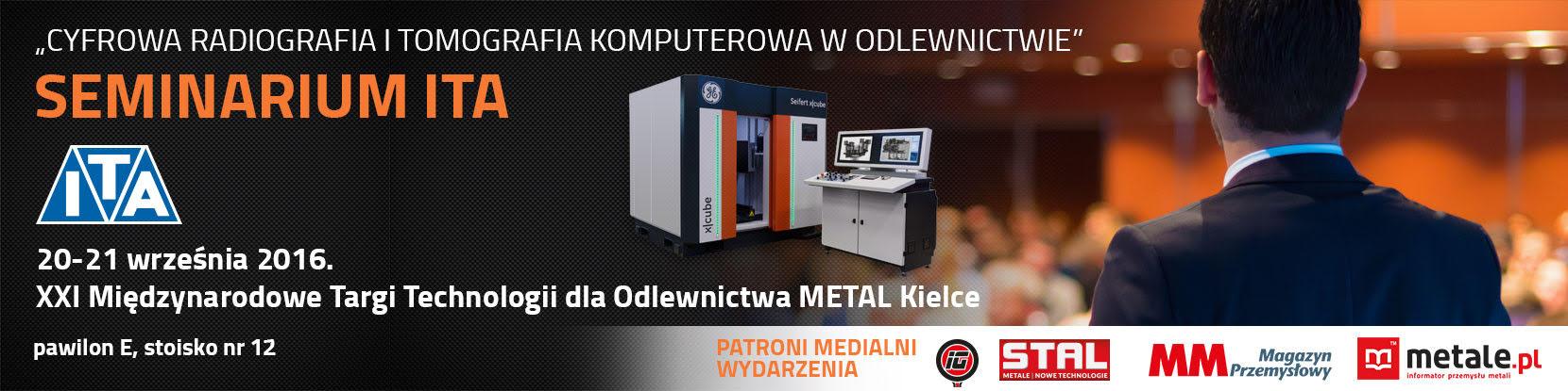 Seminarium ITA - Cyfrowa Radiografia i Tomografia Komputerowa w odlewnictwie