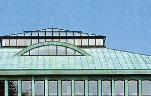 dach pokryty patyną