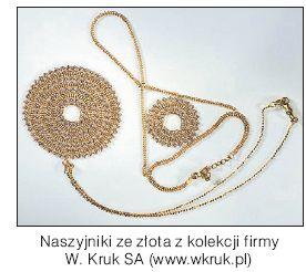 Naszyjniki ze złota